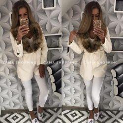 бяло палто